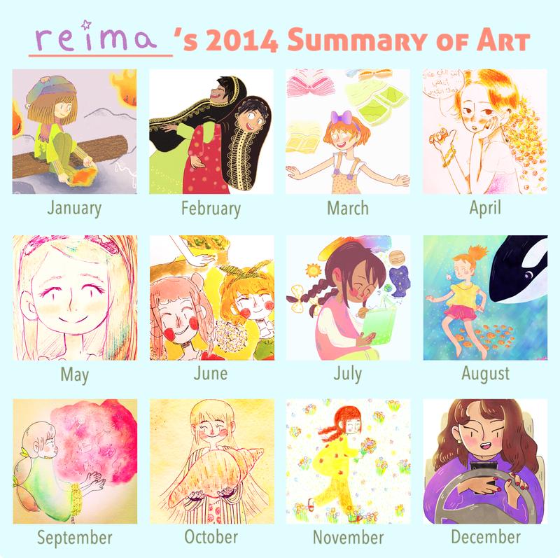 Art Summary 2014 by Reimi13