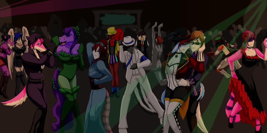 halloween dance party by keeper-of-vilya on DeviantArt
