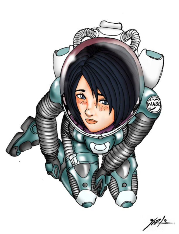 sexy anime space suit - photo #23