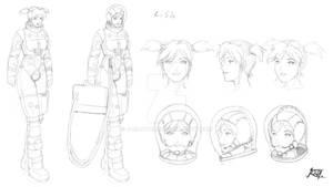 Commish- Lisa Sketchy character