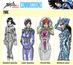 Commission Prices 2016