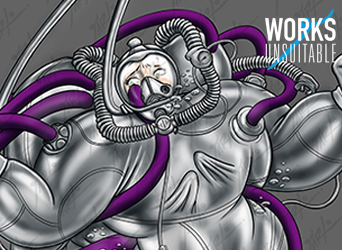 WIP Peek3-Commish-Deepsea Diver tentacle situation by jarloworks
