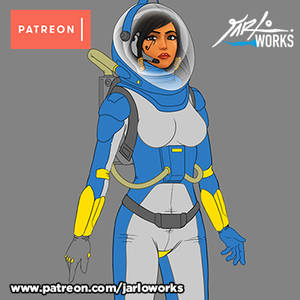 Pharah Patreon Reward Fullbody upgrade WIP