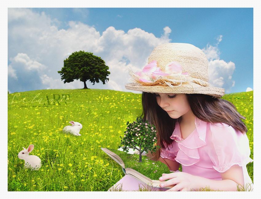 Magic of Spring by Lelanie
