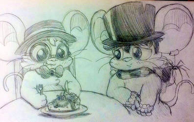 A Mixed Mouse's Birthday Cake