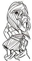 Schoolgirl by Poorone