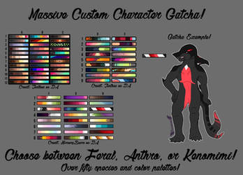 Massive Custom Character Gatcha! (OPEN)