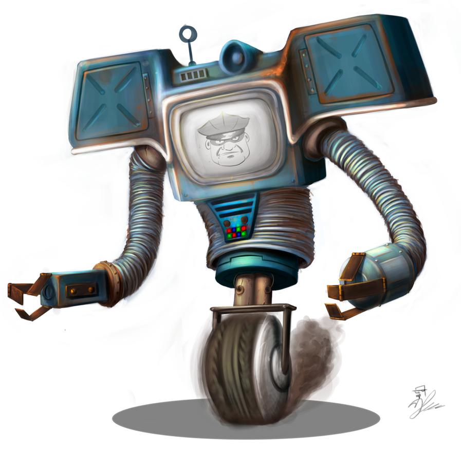 fallout 3 alien robots games robotics
