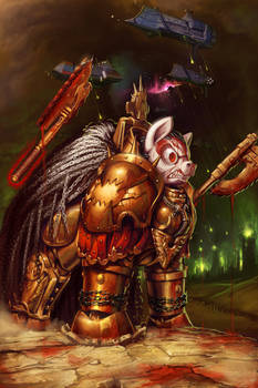 Angron, The World Eaters Primarch