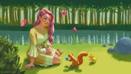 Fluttershy in the Woods