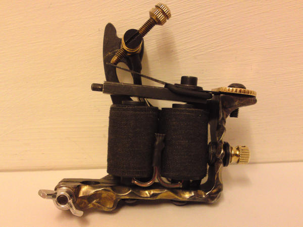 Carved tattoo machine by will on deviantart