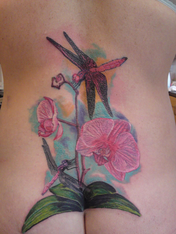 Hong Kong Magenta and Orchid, 2nd session by ~will1969 on deviantART