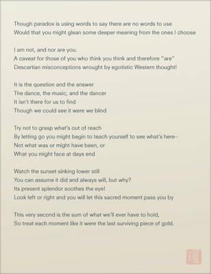 Untitled Taoist Poem