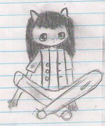 Child Racoon by Kayalisabanari