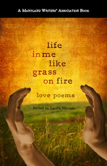 Book Cover Poetry Life in me Like Grass on Fire by jagrier