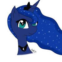 Princess Luna by Headcrabik