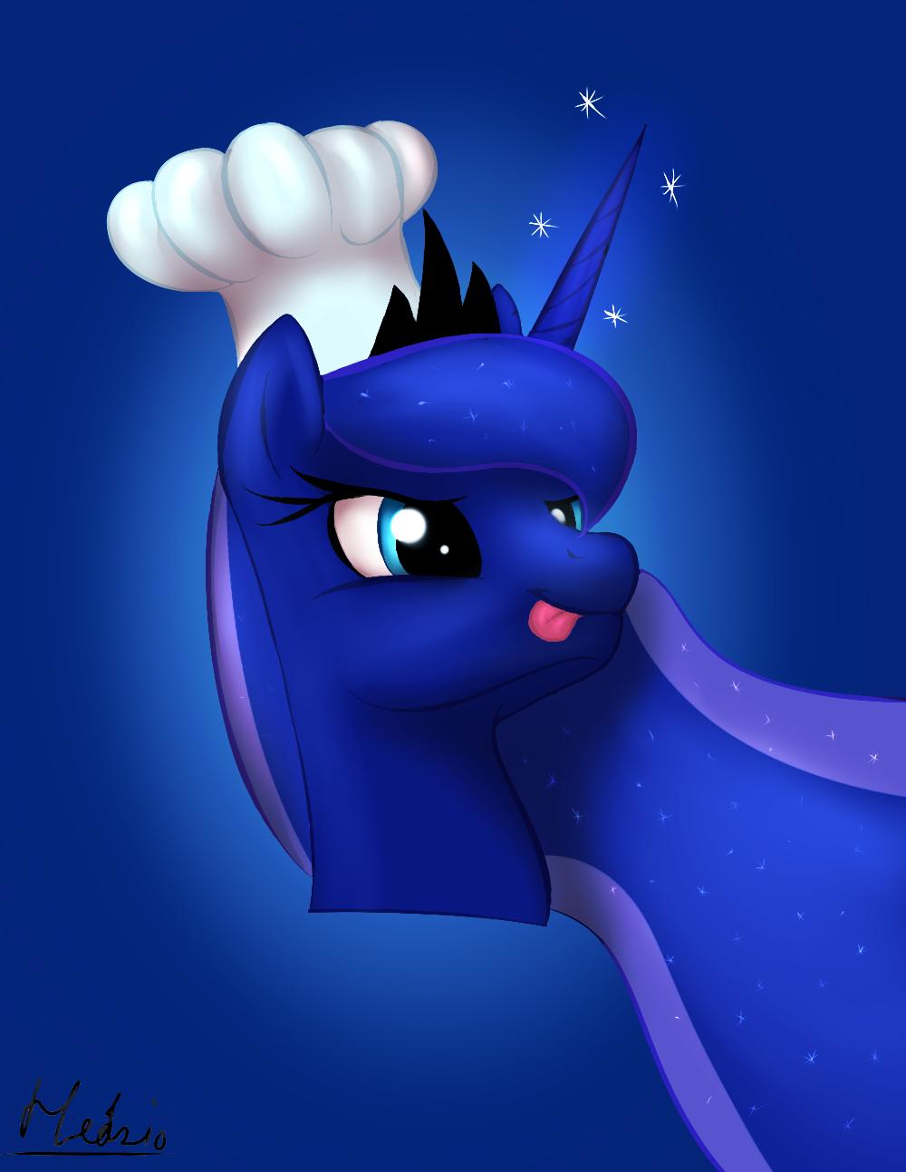 Chef Luna by Headcrabik