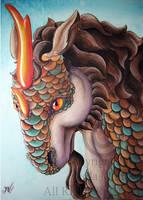 Kirin by DragonLadyArtStudio