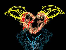 Beautifull heart by Sonala