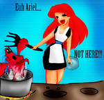Ariel hungry