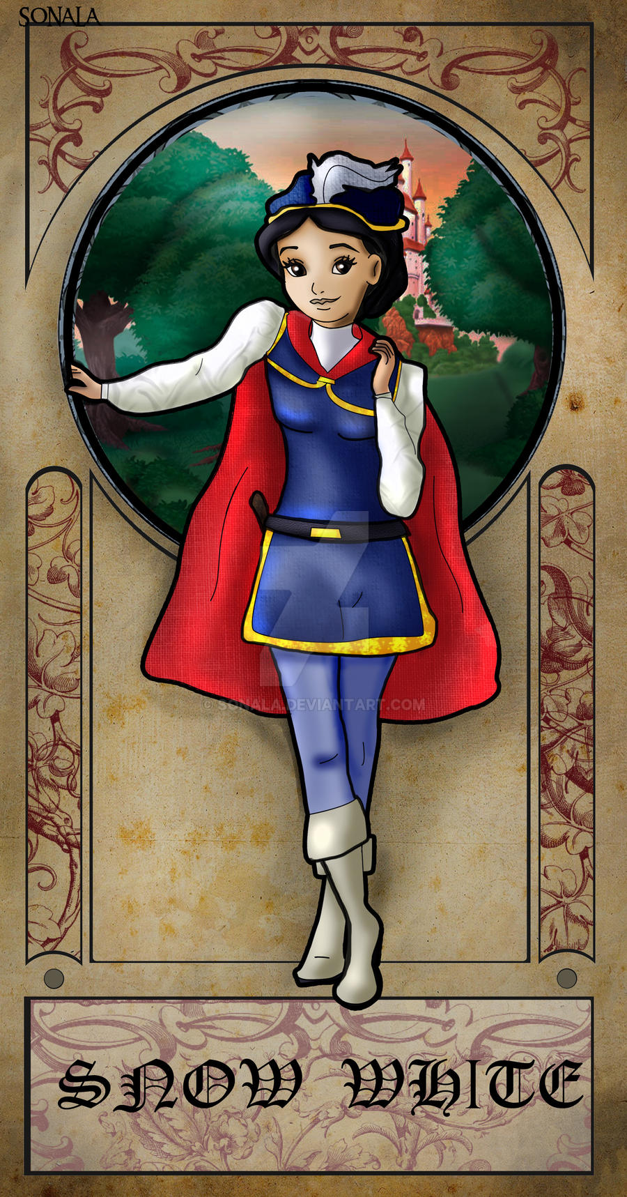 Prince Snow white by Sonala