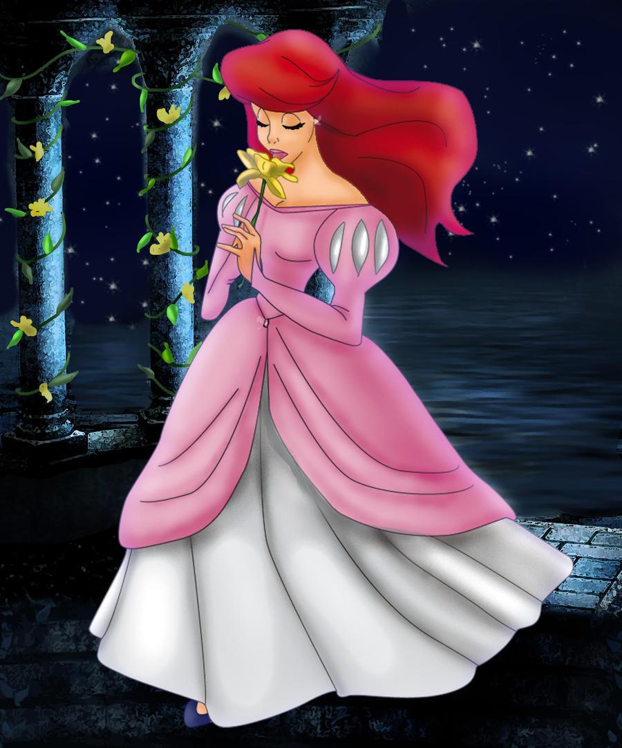 Ariel sea flower by Sonala
