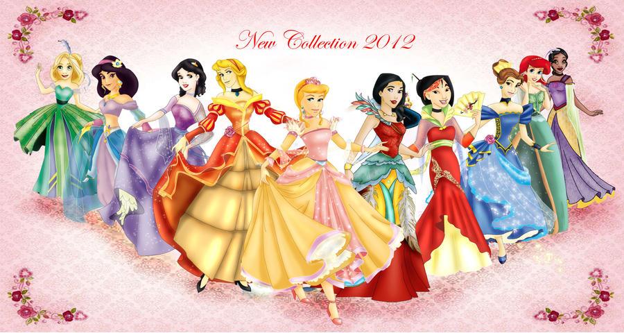 New collection: Princess Disney by Sonala on DeviantArt