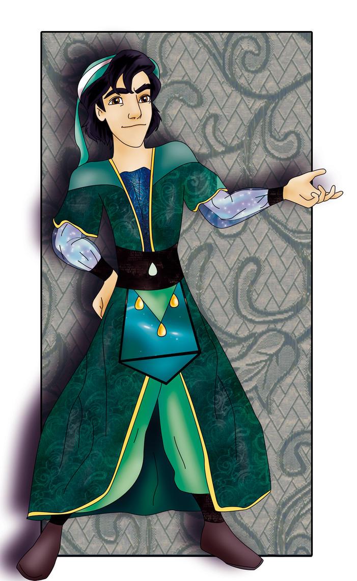 Aladdin New costum by Sonala
