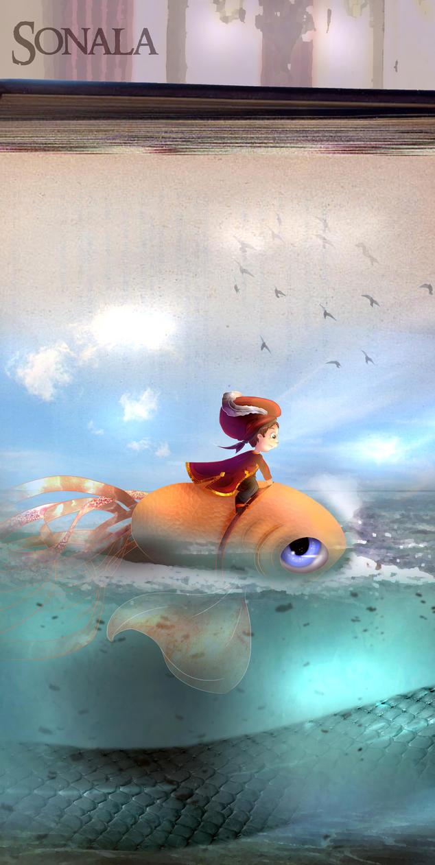 Sea book by Sonala
