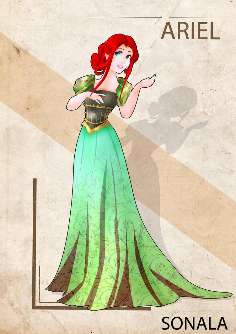 Antic Ariel by Sonala