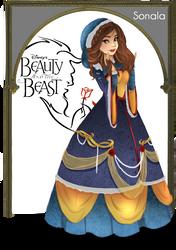 Belle in winter by Sonala