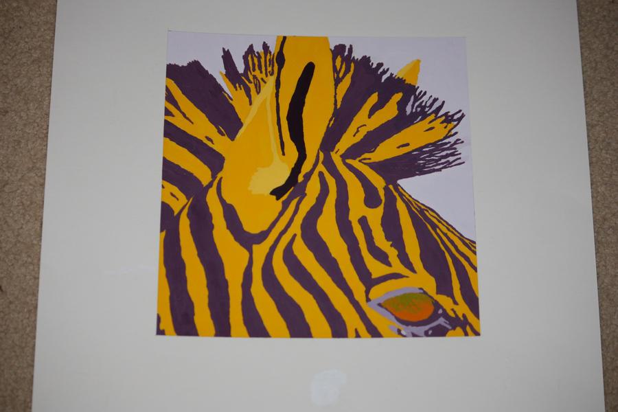 Zebra by magikwolf