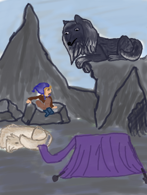 Taming Round 1-W22   Who Goes There? by magikwolf