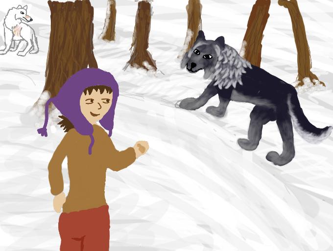 Taming Round 8- I Got Something NIce... by magikwolf