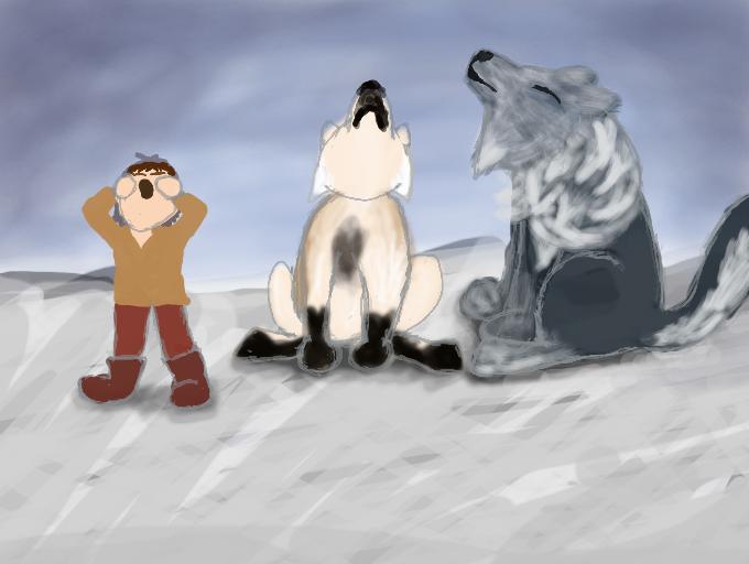 Taming Round 9- Bonding Time by magikwolf