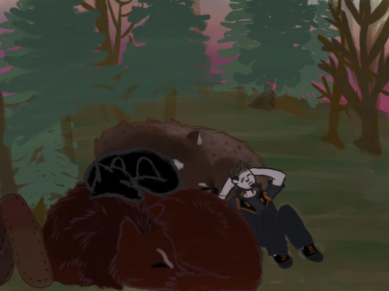RoF- Sleeping Mass (corrected) by magikwolf