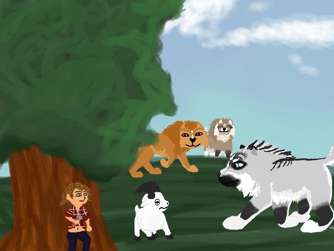 Ambush by magikwolf