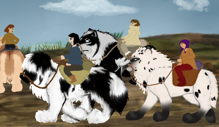 At the Start of Exploration Travels by magikwolf
