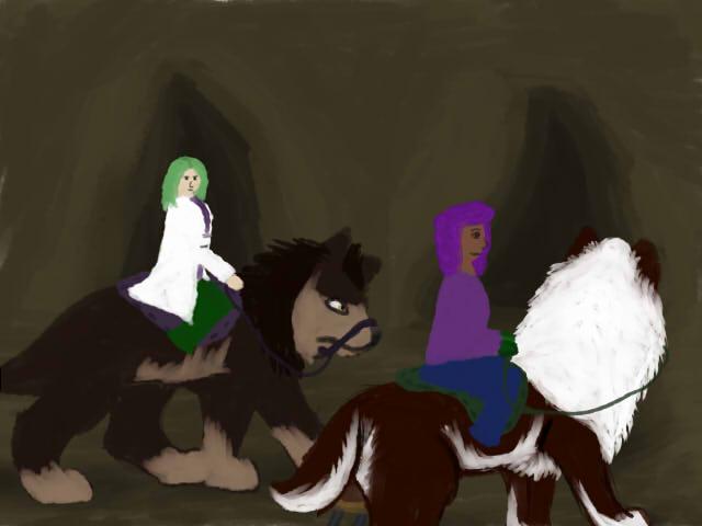 Caving 01 by magikwolf