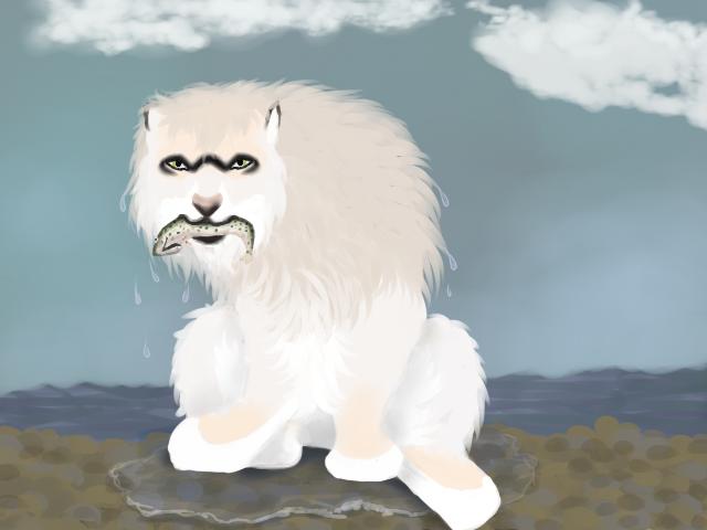 Sif Fishing 01 by magikwolf