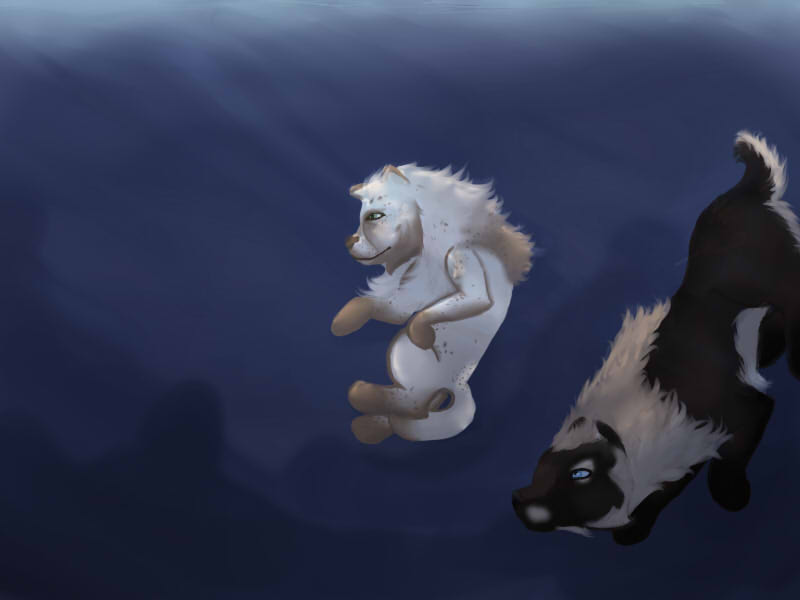 Diving 01 by magikwolf