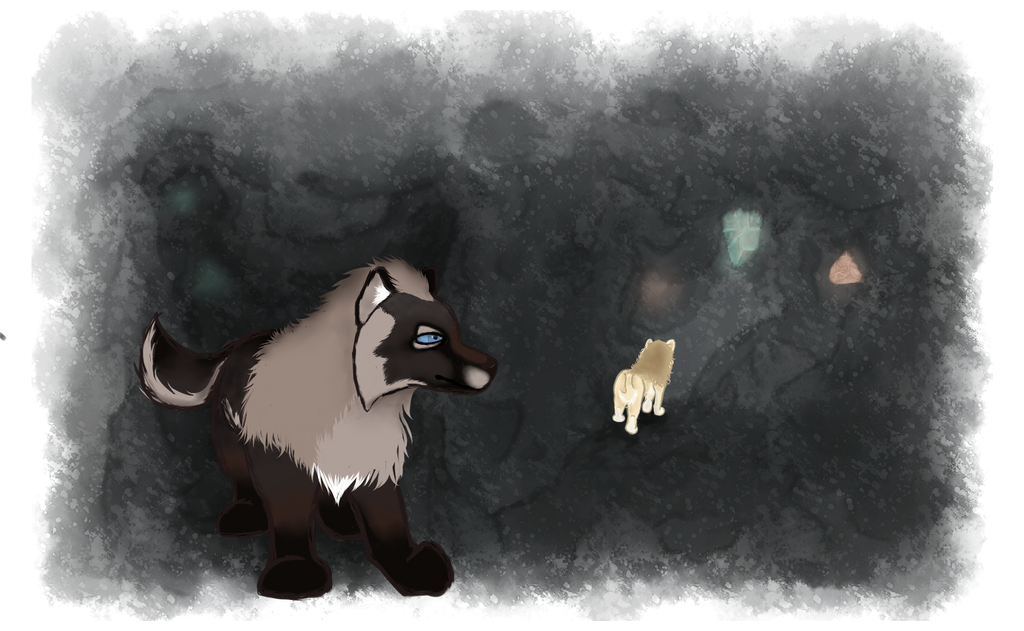 Caving: Follow Me by magikwolf