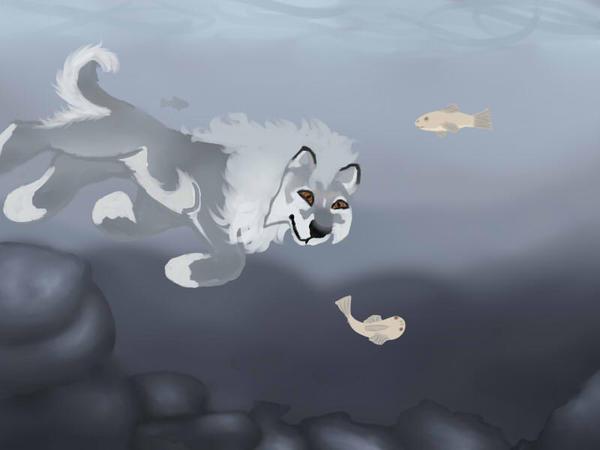 Fishing - Lugh by magikwolf
