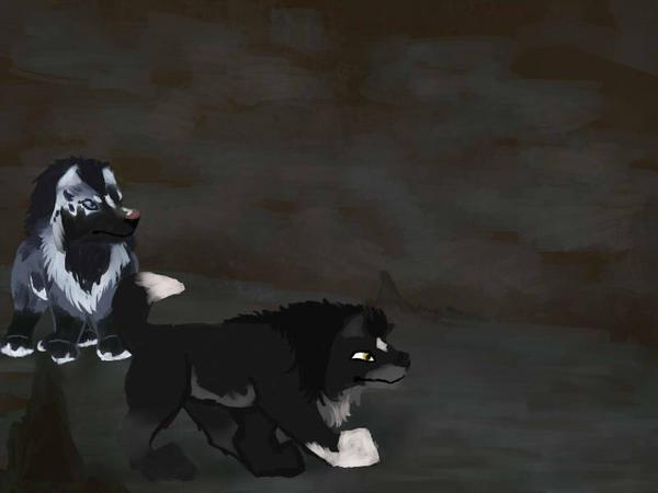 Caving  2/2 by magikwolf