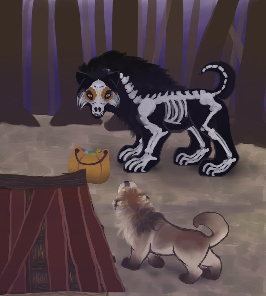 Tokoween - Tallula Encounter by magikwolf
