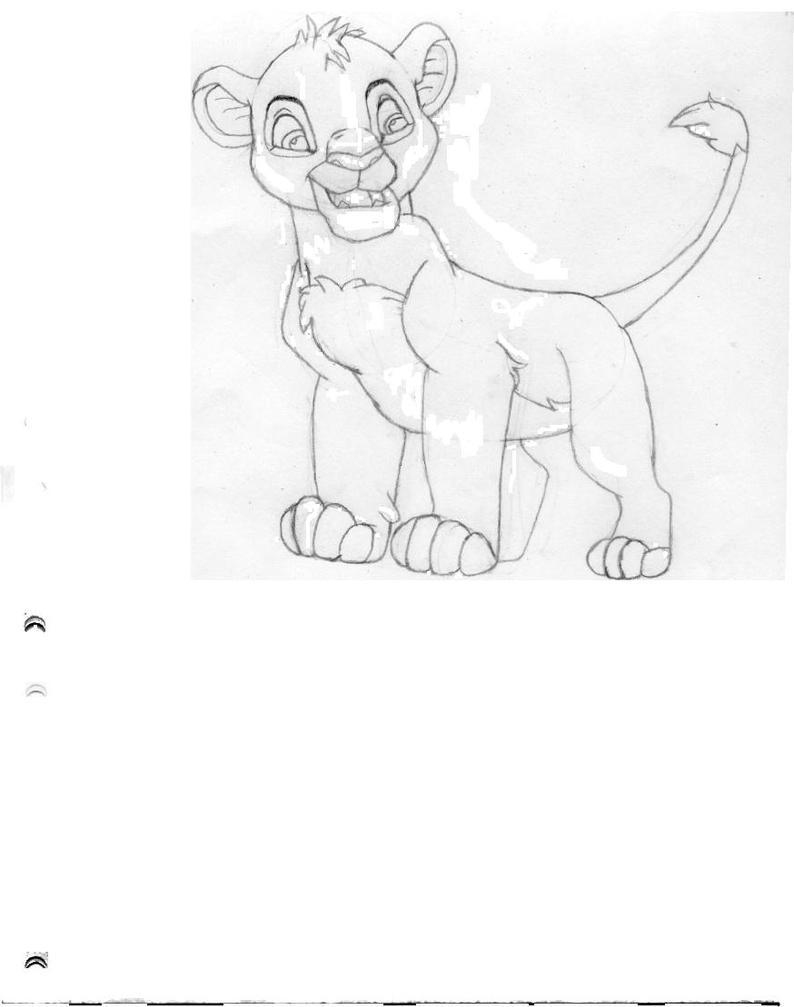 Simba Pose by magikwolf