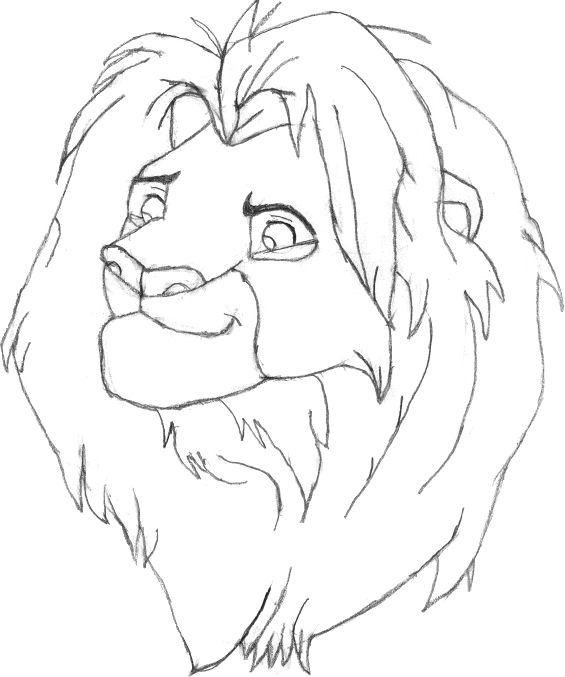Adult Simba by magikwolf