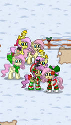 Return of the Fluttershy Herd by VenomousPie469