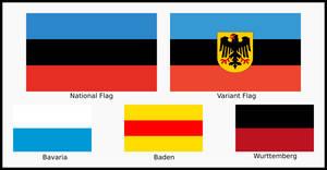 Suddeutschland Flags