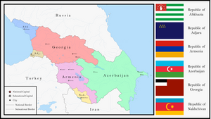 Transcaucasian Federation by NotEliotK